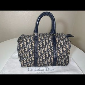 Authentic Christian Dior trotter speedy Boston bag